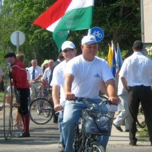 2009.08.18. - Kerékpárút avató