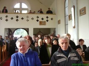 A templom felszentelésének 50. évfordulója (Fotó: Bozó Sándorné)