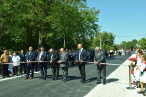 2021.09.10.-A felújított Jászszentlászló-Móricgát út avatása